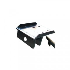FRONT BUMPER REMOVABLE TOWING HITCH PLATE