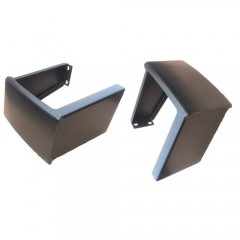 REAR BUMPERETTES MILITARY STYLE (PAIR)
